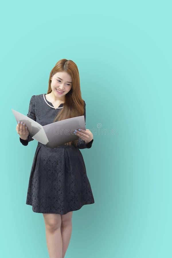 Ładne Azjatyckie biznesowe kobiety zdjęcie stock