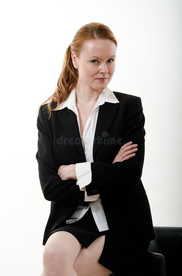 Ładnej atrakcyjnej brunetki europejski caucasian obraz stock