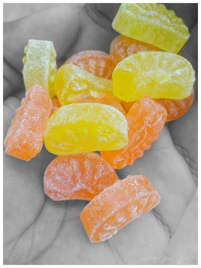 Ładni cukierki obraz stock