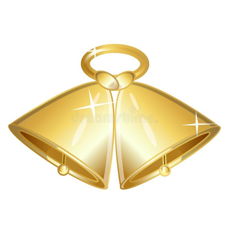 Ładni Dzwony dla bożego narodzenia desain ilustracji