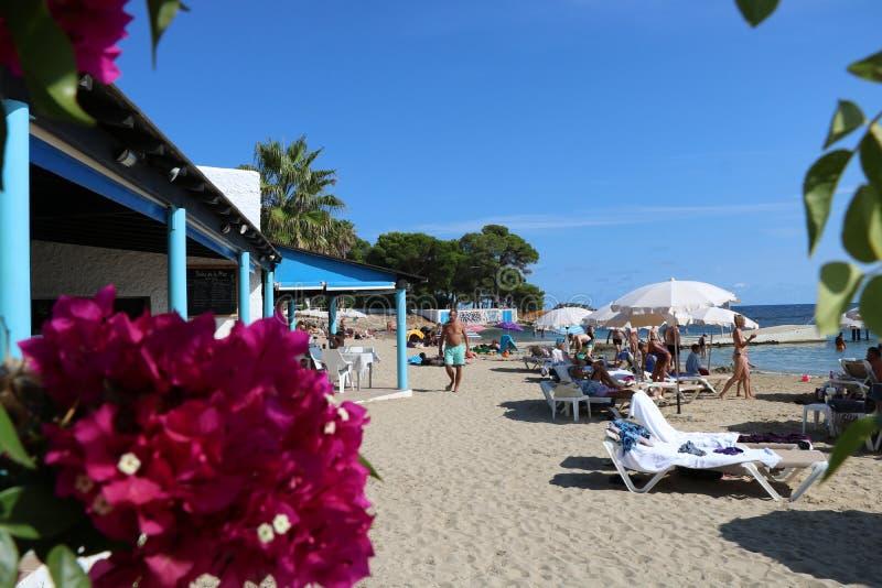 Ładni widoki Ibiza święty Antoni obraz royalty free