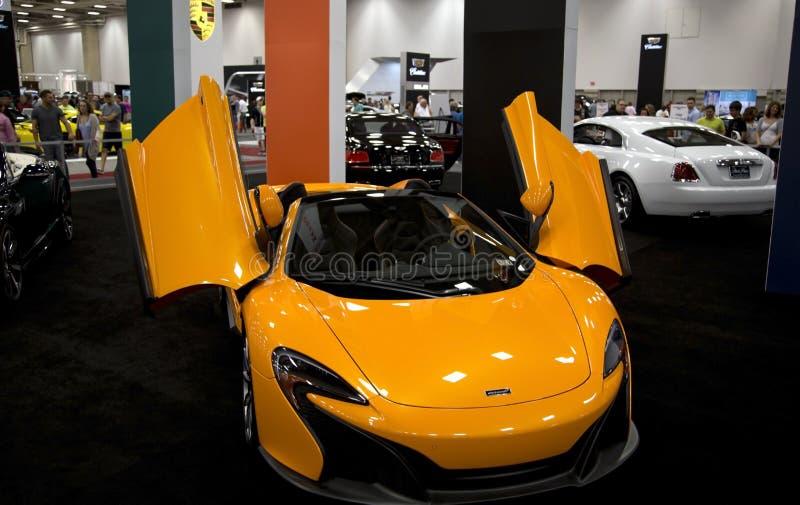 Ładny Auto przedstawienie w Dallas zdjęcia stock