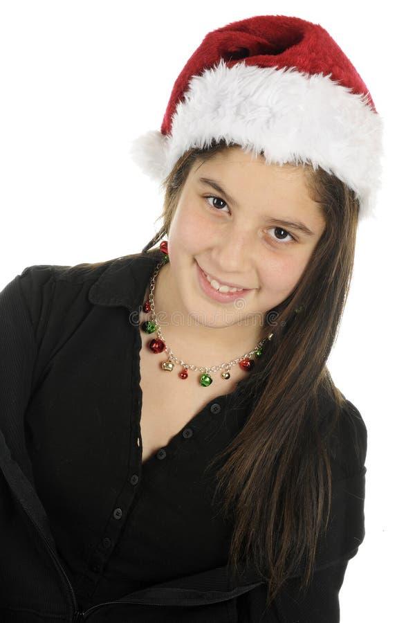 ładny Bożego Narodzenia tween fotografia royalty free