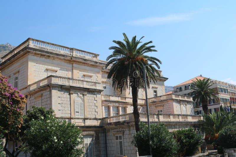 Ładny dom w Dubrovnik, Chorwacja zdjęcie royalty free