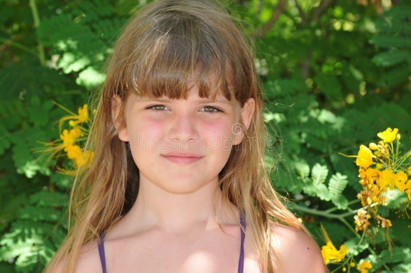 Ładny dziewczyna portret obrazy stock