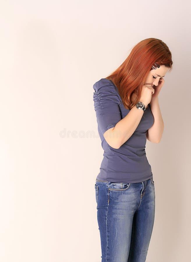 ładny dziewczyny główkowanie fotografia stock
