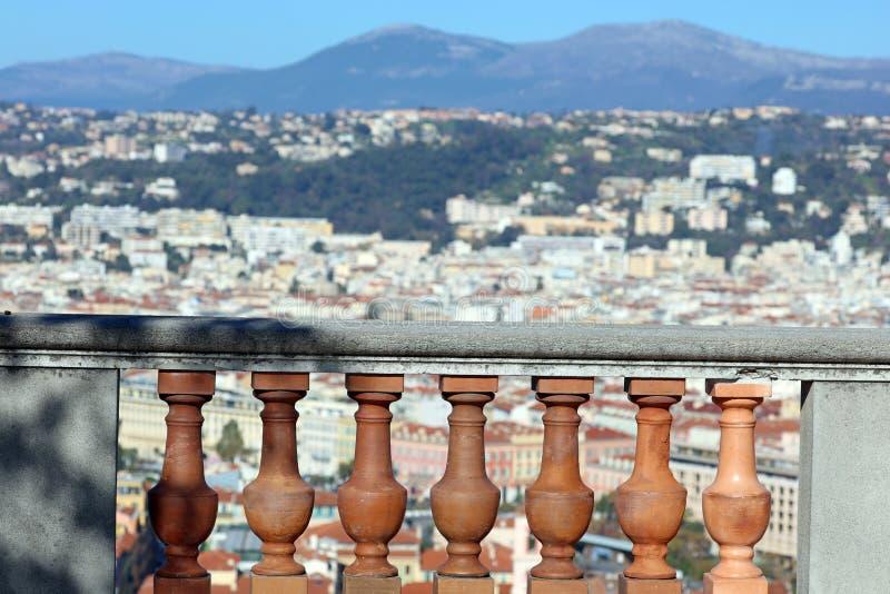 Ładny Francuski Riviera, CÃ'te d ` Azur, Eze, Cannes i Monaco, śródziemnomorski wybrzeże, święty, Błękitne wody i luksusu jachty zdjęcia royalty free