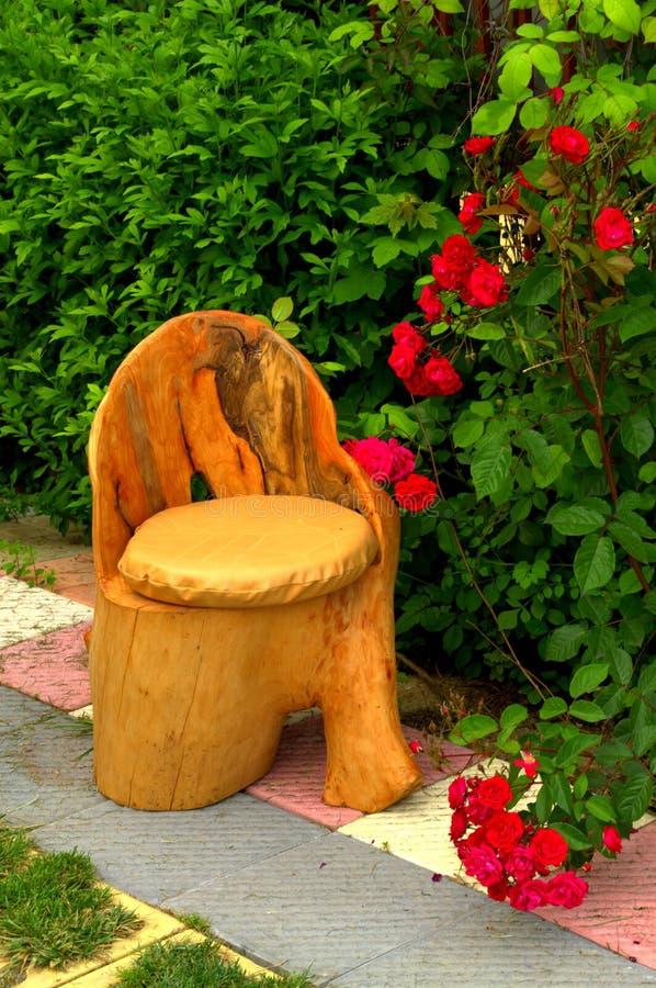 Ładny handmade ogrodowy trzon obraz stock