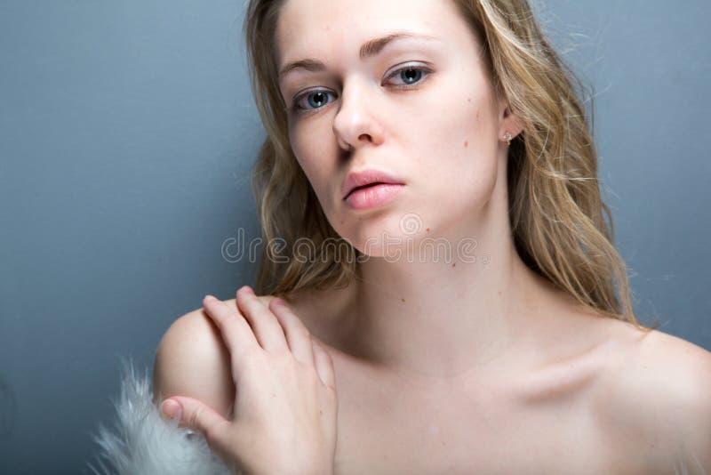 Ładny kobieta portret obrazy stock