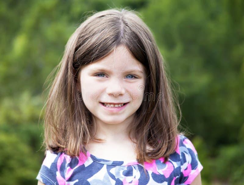 Ładny młoda dziewczyna portret obrazy royalty free