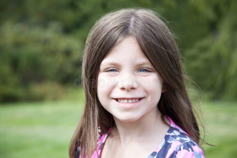 Ładny młoda dziewczyna portret zdjęcie royalty free
