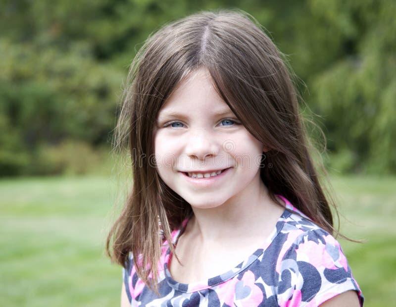 Ładny młoda dziewczyna portret obraz stock