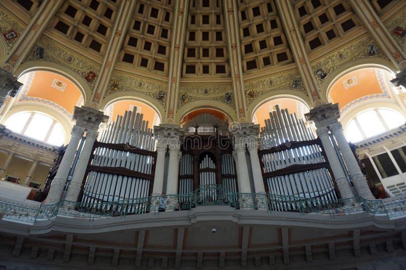 Ładny muzeum sztuki organ zdjęcie stock