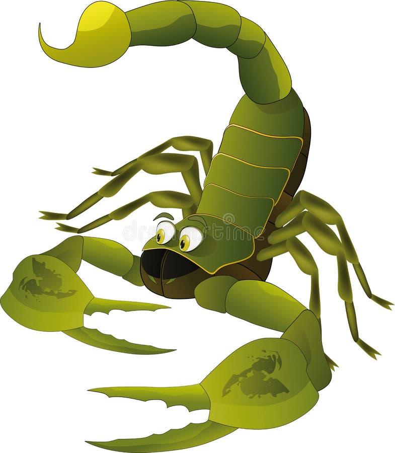 ładny skorpion ilustracji
