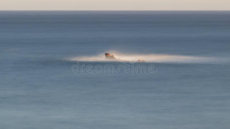 Ładny szczegół Hiszpański wybrzeże w Costa Brava, los angeles Fosca fotografia royalty free