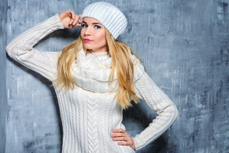 Ładny zima styl obrazy stock