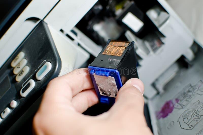 ładownicy drukarka zdjęcia stock