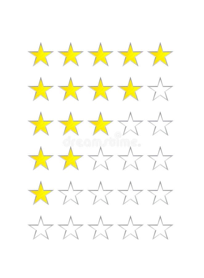 Ładowniczy bar od pięć gwiazd royalty ilustracja