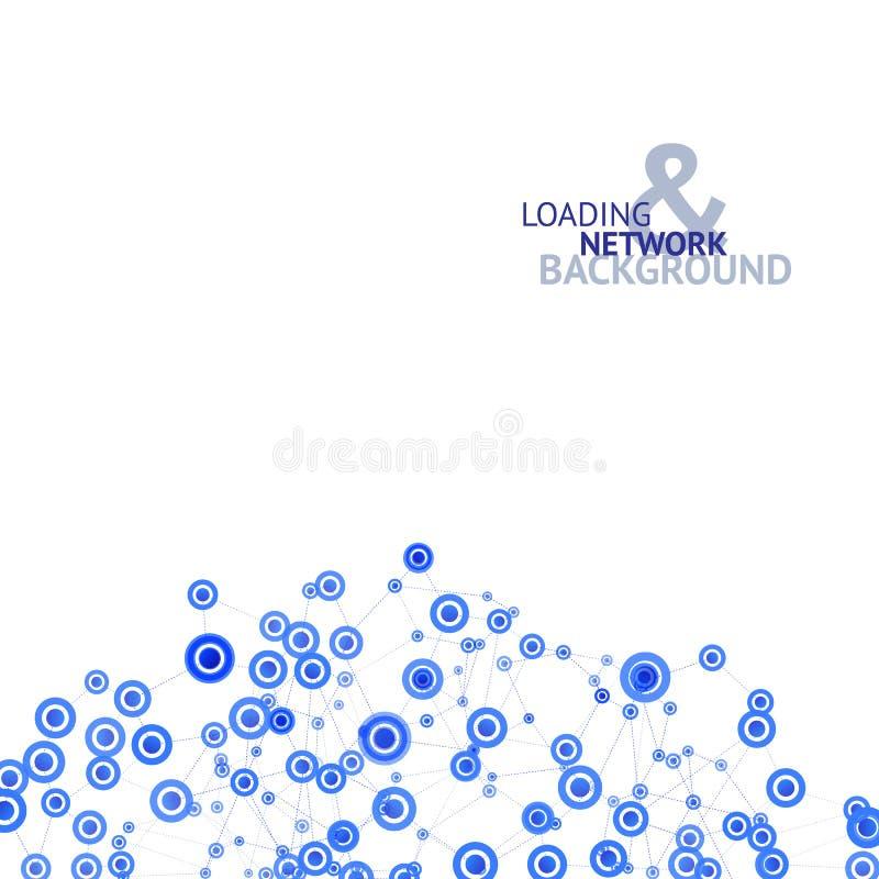 Ładowniczy sieci tło royalty ilustracja