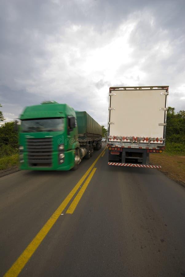 ładunek ciężarówka obraz stock