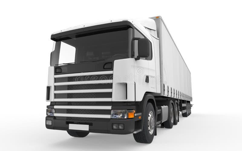 Ładunek Doręczeniowa ciężarówka ilustracji