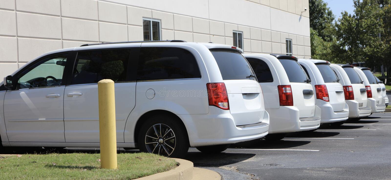 Ładunków samochody dostawczy obrazy royalty free
