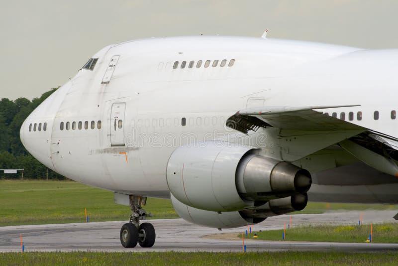 ładunku olbrzymi samolot obraz stock