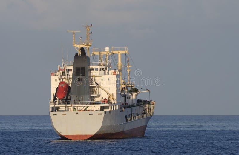 ładunku statek obraz stock