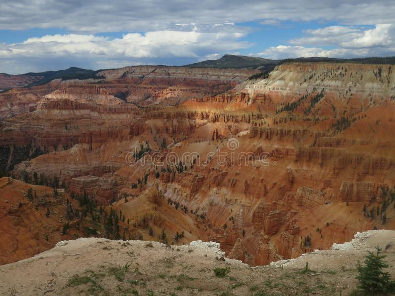 łama cedrowego pomnikowego krajowego Utah zdjęcia stock