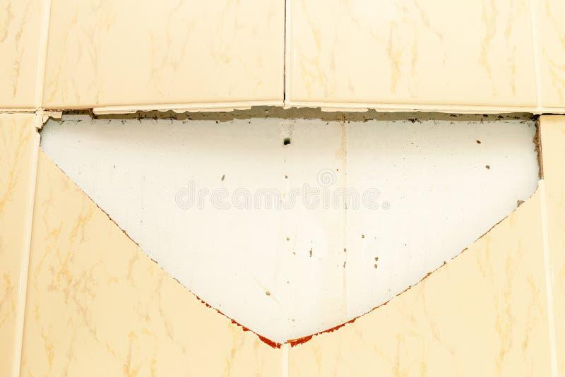 łamane płytki do łazienki wallah Uszkadzam 1 zdjęcie royalty free