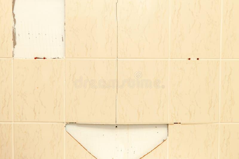 łamane płytki do łazienki wallah Uszkadzamy 5 obrazy royalty free