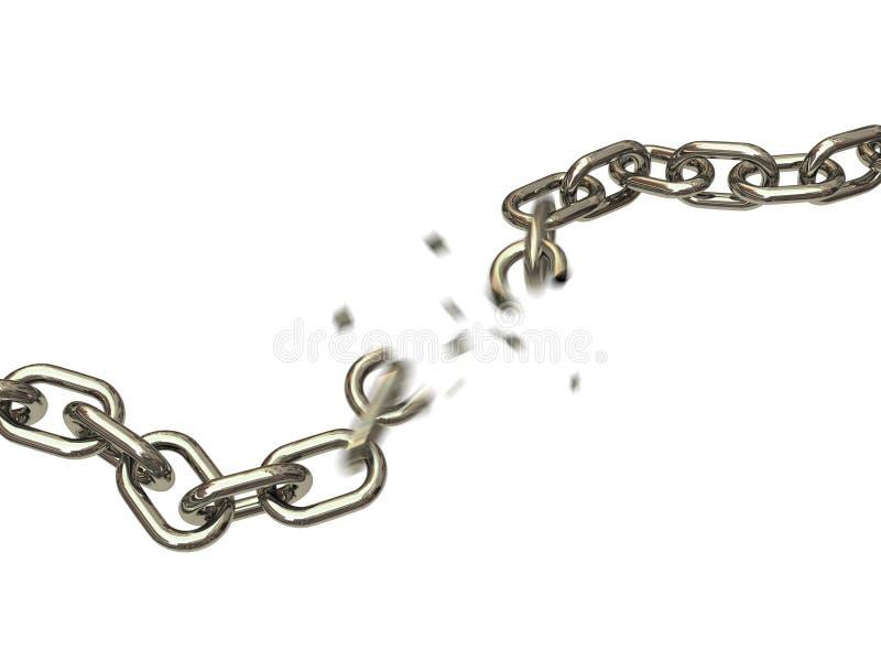 łamani łańcuchy ilustracja wektor