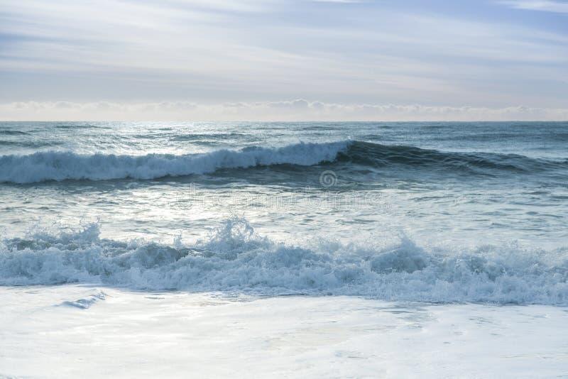 łamania oceanu fala fotografia royalty free