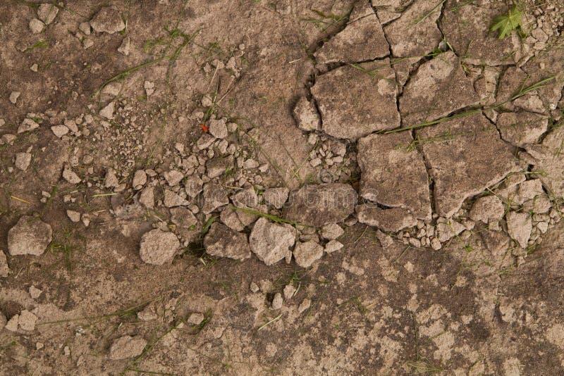 Łamany betonowy Tło obraz stock
