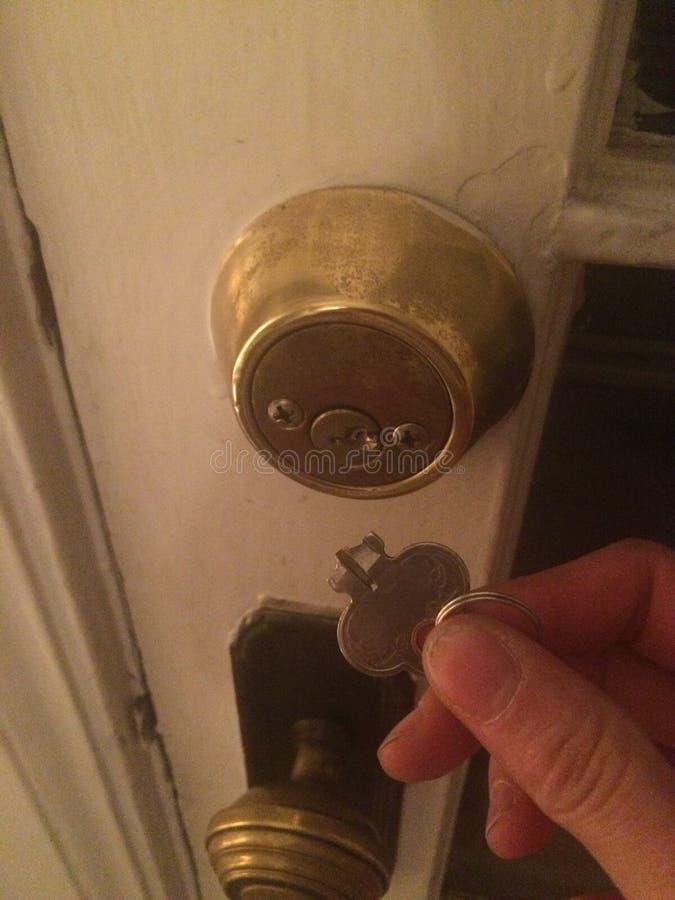 Łamany klucz zdjęcie stock