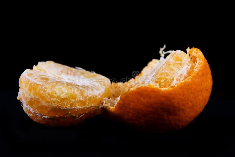 łamany tangerine obrazy royalty free