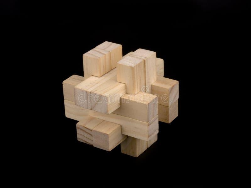 Download łamigłówka drewniana zdjęcie stock. Obraz złożonej z część - 13330804