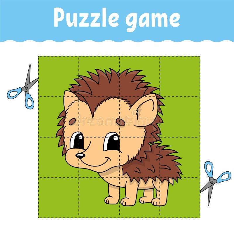 Łamigłówki gra dla dzieciak edukacji Edukacji rozwija worksheet gemowi dzieciaki Aktywności strona Łamigłówka dla dzieci Rzeszoto ilustracja wektor