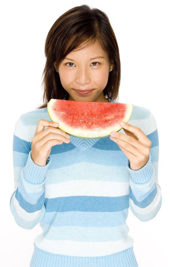 Łasowanie Melon obraz royalty free