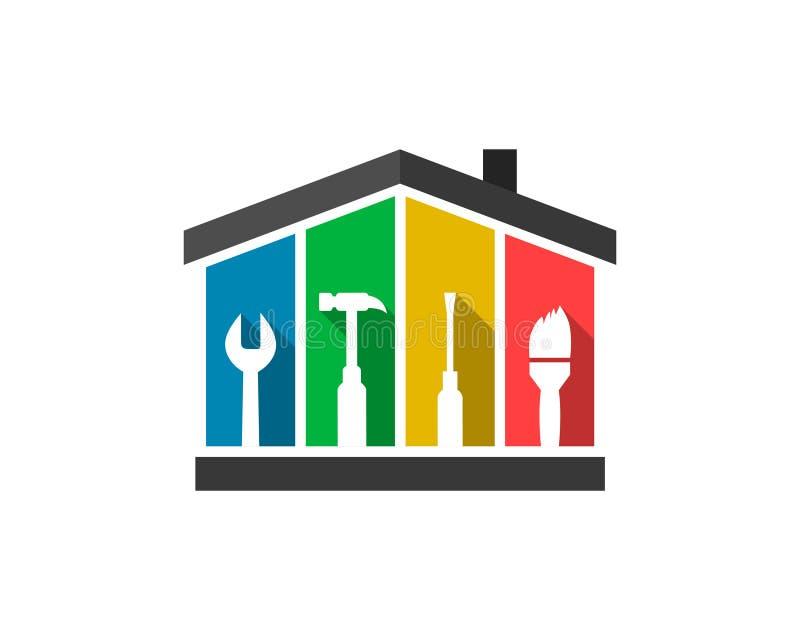 Łatwości zarządzania logo pojęcie royalty ilustracja