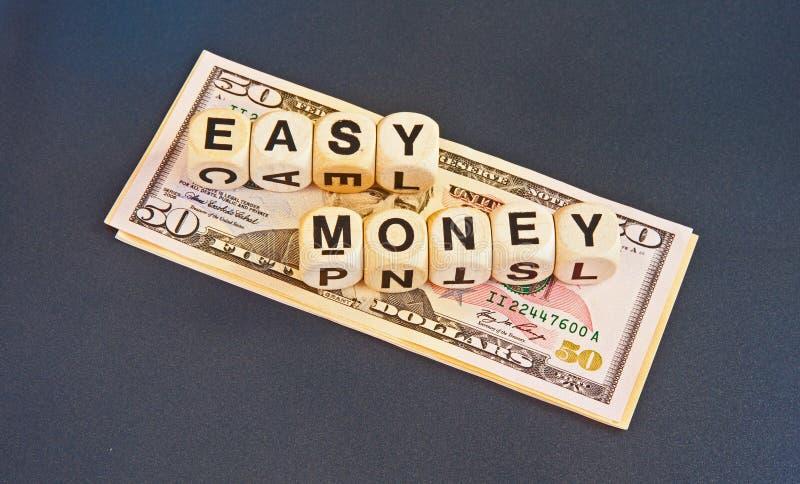 Łatwy pieniądze fotografia royalty free
