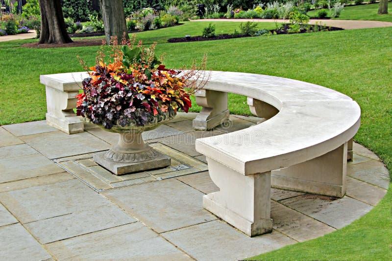 ławki ornamental kamień obrazy royalty free