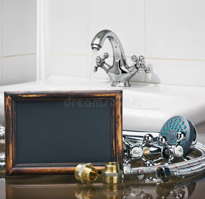 Łazienek dopasowania i elementy wyposażenia są różna budowa i obrazy stock