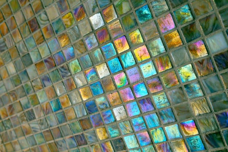 łazienek kolorowe kafli. obraz royalty free