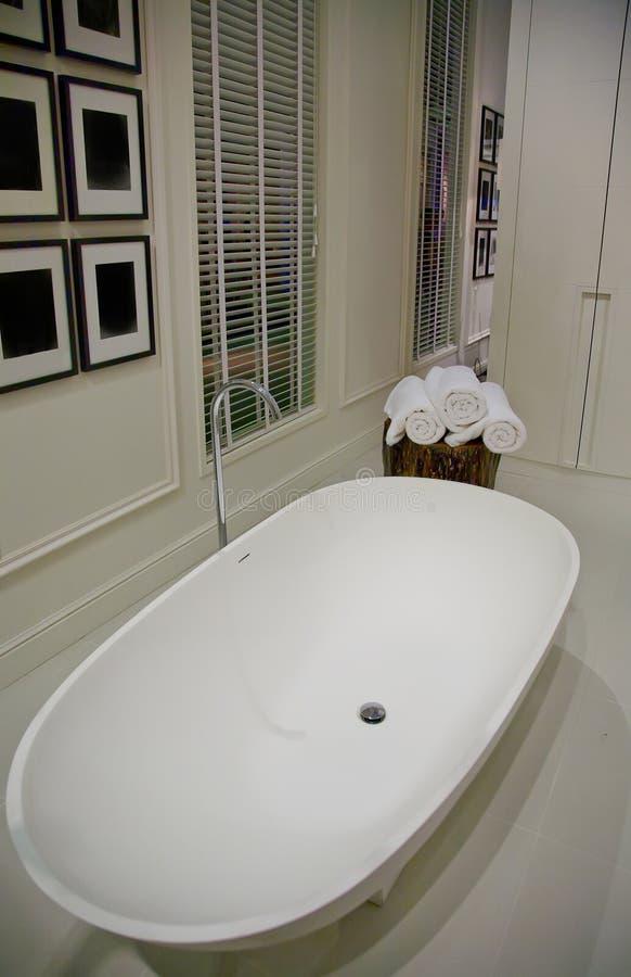 łazienka biel obrazy stock