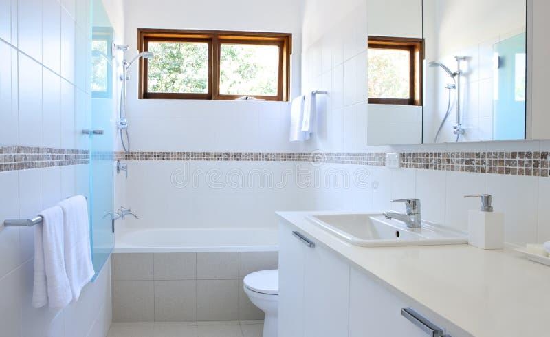 łazienka biel obraz stock