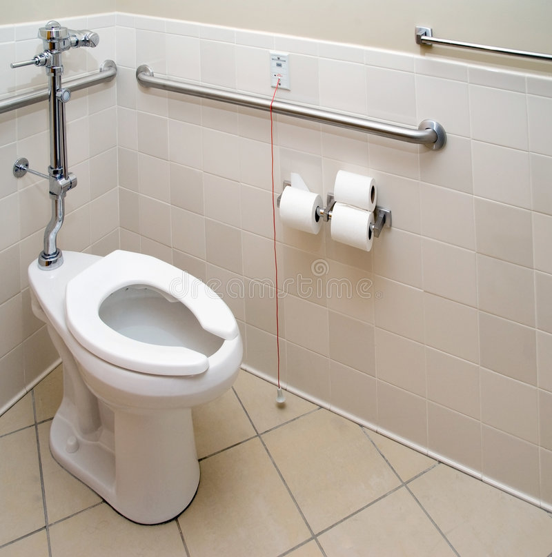 łazienka pacjent szpitala zdjęcie royalty free