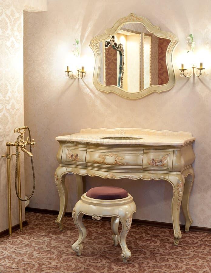 łazienka retro zdjęcie stock
