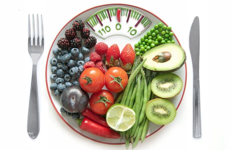 Łazienka waży diety pojęcie obraz royalty free