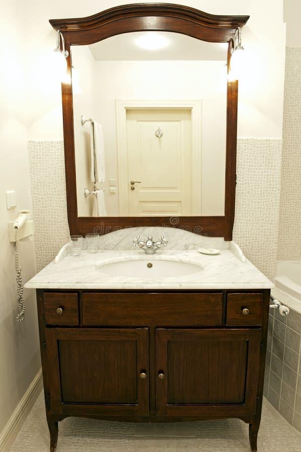 Łazienka zlew fotografia stock